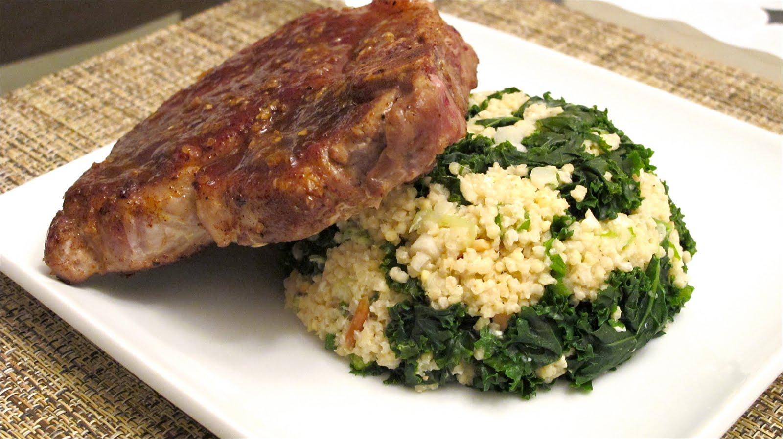 NuM NuM: One Pot Kale and Quinoa Pilaf