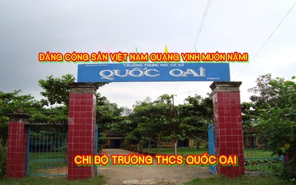 CHI BỘ TRƯỜNG THCS QUỐC OAI