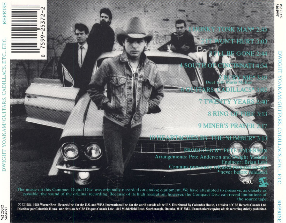 de maria dwight yoakam guitars cadillacs etc etc 1986. Cars Review. Best American Auto & Cars Review
