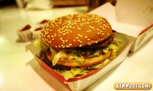 mc donald big mac burger