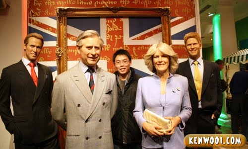 london madame tussauds british royal family