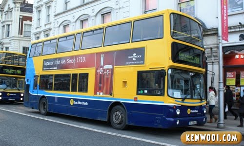 dublin double-decker bus