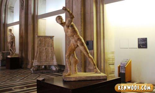 paris lourve museum borghese gladiator