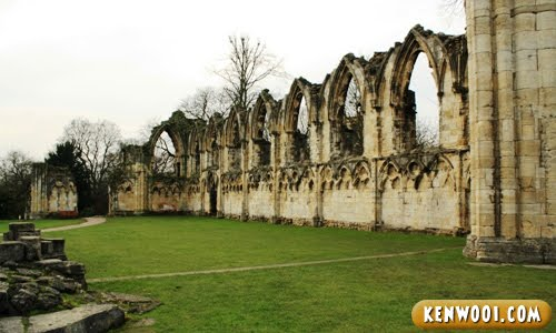 york museum gardens st. mary's abbey
