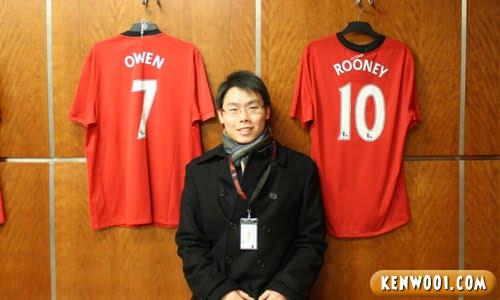 michael owen wayne rooney jersey
