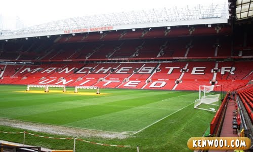 old trafford north stand