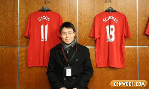 rayn giggs paul scholes jersey