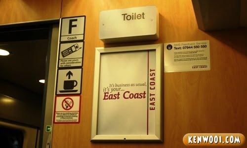 east cost train