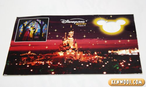 disneyland paris postcard