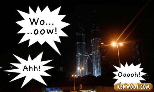 earth hour klcc