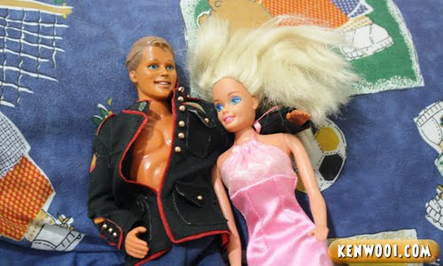 ken barbie bed