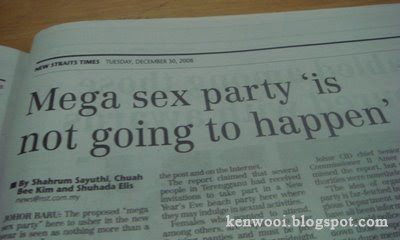 mega sex party