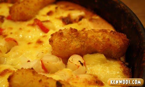 fish king pizza fish finger