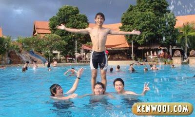 laguna redang island resort stunt