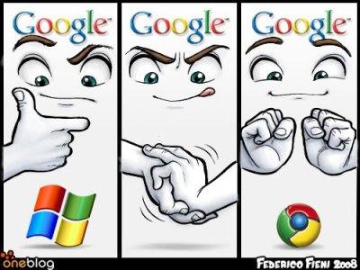 google chrome vs windows