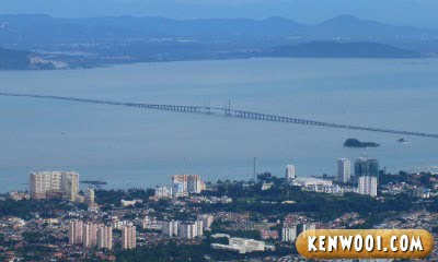 penang hill penang bridge