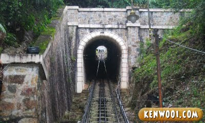 penang hill tunnel
