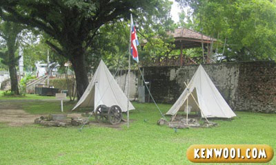 penang fort cornwallis colony model