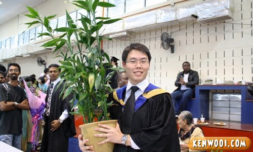 graduation plant