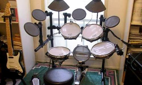 electronic drum set
