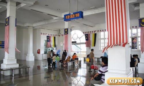 ipoh railway station lobby