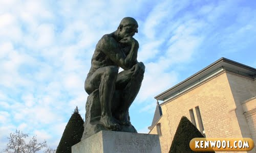 paris rodin the thinker