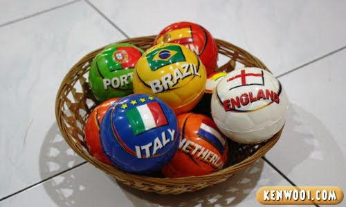 tiger world cup stress balls