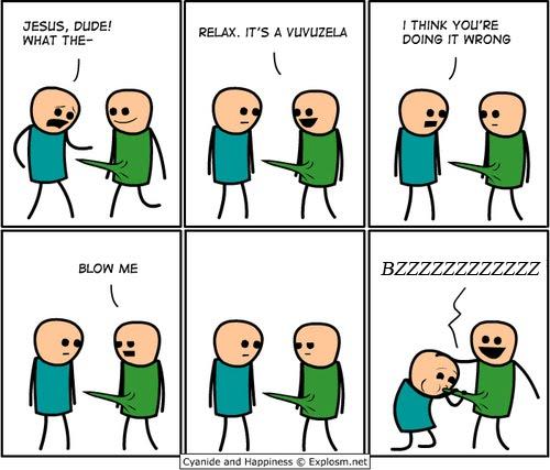 vuvuzela comic