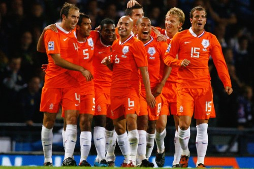 netherlands football team 2010
