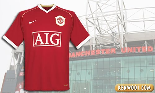 manchester united aig jersey
