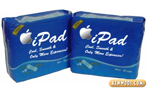 ipad sanitary pad