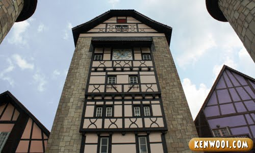 colmar tropicale clock tower