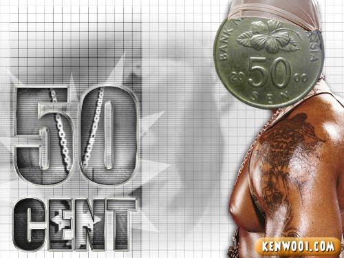 50 cent ringgit