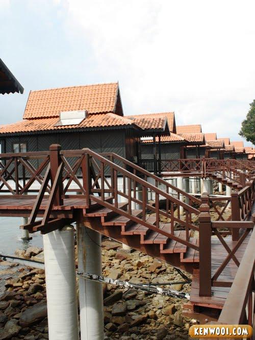 berjaya langkawi resort chalet on water