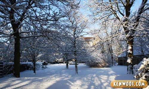 leeds snow during winter