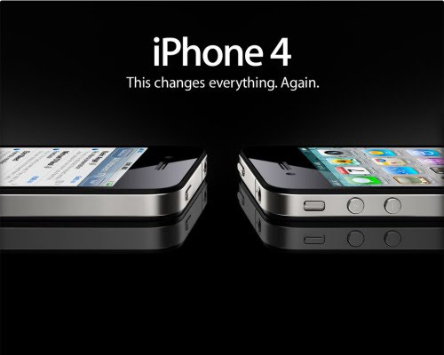 iphone 4 advertisement