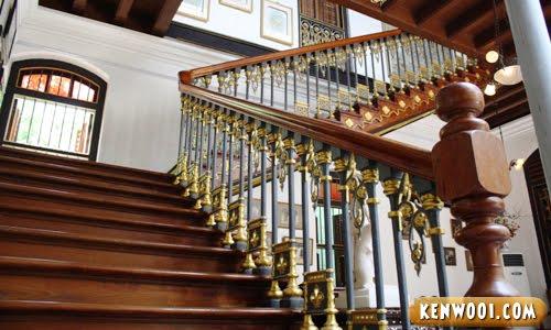 pinang peranakan mansion staircase