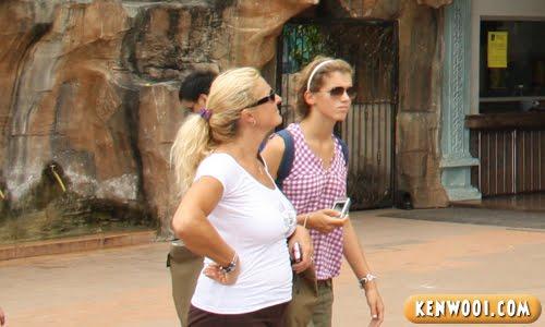 western visitors