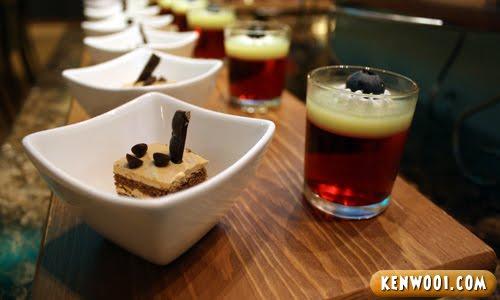 cake and jelly dessert