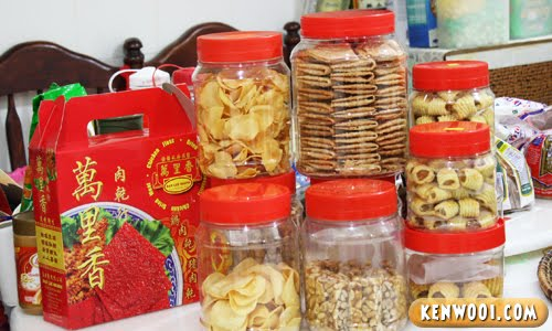 chinese new year biscuits