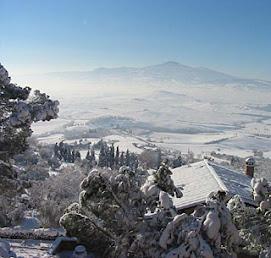 Monte Amiata.....E' Arrivata la neve!