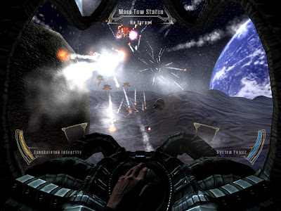 sci-fi battle