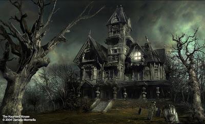 haunted kisértetház kisertet gothik gothic horror