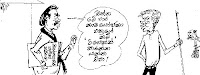 These cartoons are extracted from Divaina, Dinamina, Lankadeepa,