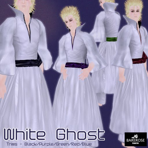 white ghost located in tower vi this is a whiteWhite Kimono Ghost