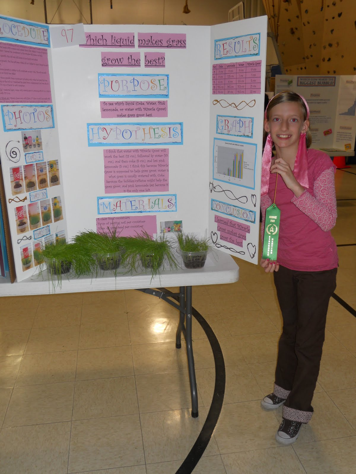 first grade science project What: alton school district elementary science fair when: thursday, january  25  click here to view a video presentation of a first-grade science fair project.