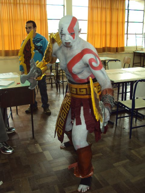 Cosplay Cractor god of war