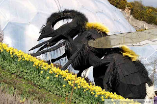 bombus the bee at eden project