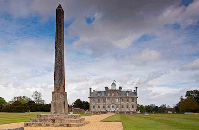 kingston lacy and egyptian obelisk