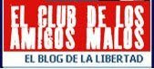 Logo para anunciar El club de los amigos malos en webs y blogs